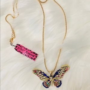 NEW Boutique! Betsey Johnson Butterfly Necklace